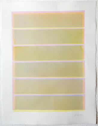 Überlagerung 111 I Tusche auf Büttenpapier I 65 x 50 cm