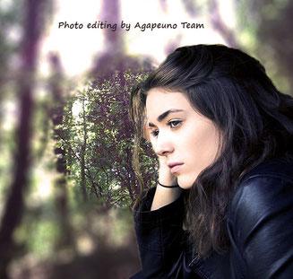 photo editing girl portrait