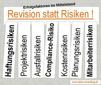 Risiko-Consulting: Revision statt Risiken im Mittelstand.