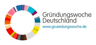 Offizielles Logo der Gründerwoche 2020