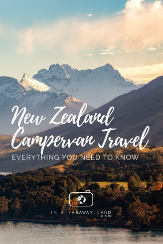Few essential things you need to know when travelling around New Zealand in a campervan or a motorhome.