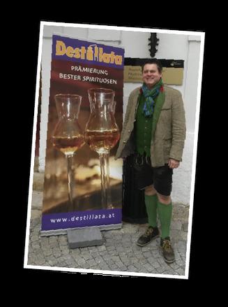 Edgar Wernbacher bei Destillata-Gala 2015