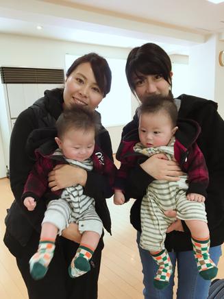今週の双子母サポーターは3児の母きみちゃん!「赤ちゃん抱っこさせてもらえて幸せだった〜」って^^