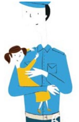 """Kinderbuch """"O meu pai é policia"""""""