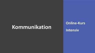Intensiv-Training Kommunikation