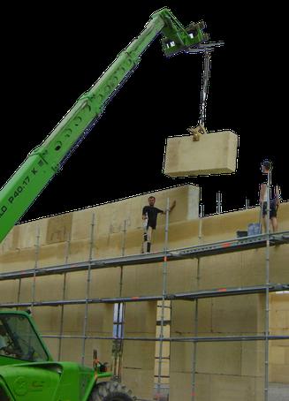 Construction d'un atelier de menuiserie, Théziers, Gard