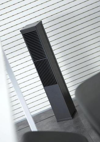 Diffusore verticale per impianto Ufad