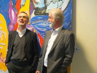 links: RA Ralf Niehus, rechts: StB/vBP Bernd H. Ruppel