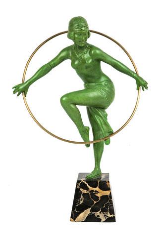 Ballet Dancer, Art Deco about 1930, Art Déco Wiesbaden Regine Schmitz-Avila