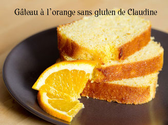 gâteau orange sans gluten