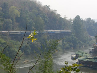 Death Railway and River Kwai in Kanchanaburi