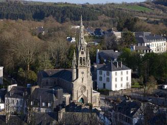 Eglise Saint Idulnet de Châteaulin (photo région Bretagne)