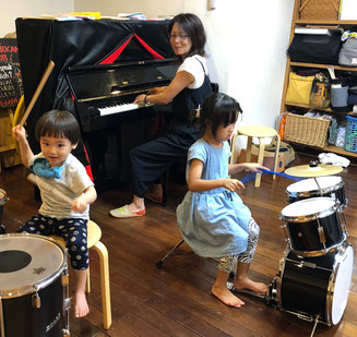 どれみ音楽教室 どれみらぼ ドラムセット