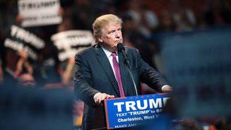 Dem Milliardär Donald Trump ist die Präsidentschaftskandidatur für die Republikaner kaum noch zu nehmen. © Brendan Smialowski/AFP/Getty Images