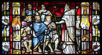 St Patrick prêchant aux rois, cathédrale de Carlow