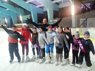 Anfänger im Eissportverein Senden