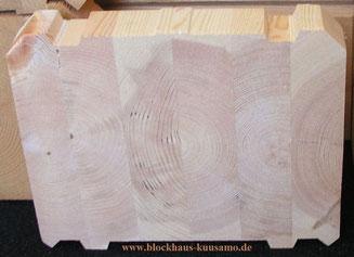 Blockhaus - Wohnblockhaus - Holz - Langlebige Bauweise - Polarholz - Polarkiefer - Wohnhaus - Holzqualität