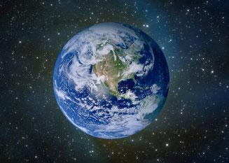 Вид Земли из космоса (Фото)