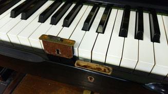 ピアノ カギ交換