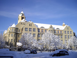 Ludwig-Uhland-Schule im Winter