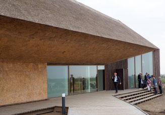 Der Eingang zum neuen Wattenmeercenter in Vester Vedsted bei Ribe. Foto: C. Schumann, 2017