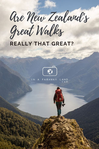 Are New Zealand's Great walks worth the money?