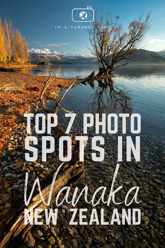There is no shortage of beautiful photography spots around Wanaka in New Zealand. Check them out in my recent post!