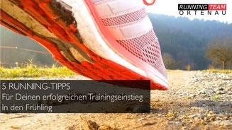 Mit den 5 Tipps gelingt Dein Trainingseinstieg in den Frühling!