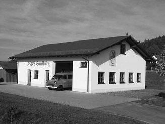 Das neue Feuerwehrgerätehaus, ein Schmuckstück am Ortsrand