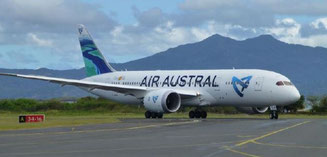 Air Astral operated Boeing Dreamliner