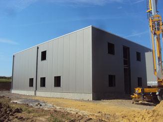 Responsable PEB - construction d'un laboratoire avec salle blanche et bureaux à Ouffet - PrismEco