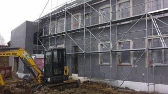 Responsable PEB - transformation d'un bâtiment de ferme en deux maison unifamiliales à Huppaye - PrismEco