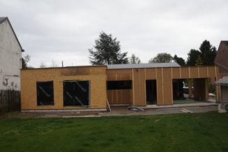 Responsable PEB - extension et transformation d'une maison à Vedrin - PrismEco