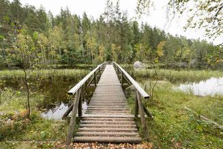 Isojärvi National Park in der Seenplatte im Süden Finnlands