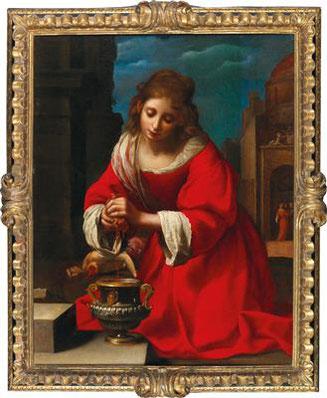 Felice Ficherelli_Santa Prassede Dorotheum_ L'Ultimo Vermeer_La Santa Prassede_Appunti d'Arte di Tamara Follesa
