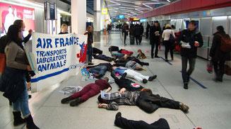 Go-In-Kampagne gegen Air France-KLM