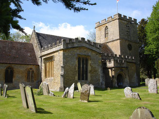 The Church of St. Mary, the parish church of Elmley Castle.