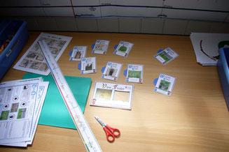 Make wonder cards and use the timeline.