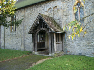 St Edmund's Church in Stoulton was built around 1120