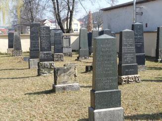 Archivbild vom Jüdischen Friedhof in Neumarkt, Foto: Franz Janka