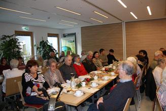 Einen geselligen Nachmittag verbrachten die Senioren von GENiAL e.V. im Bürgerhaus. (Foto: Vera Finn)