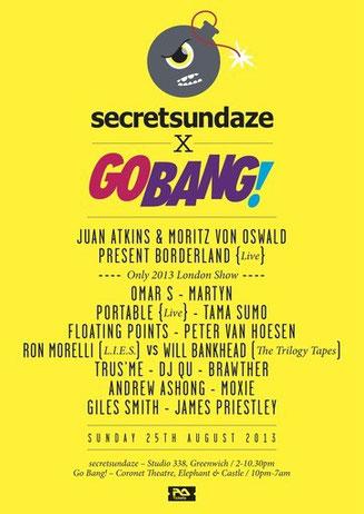 secretsundaze x Go Bang!