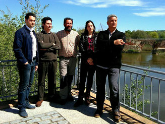 Integrantes de Tagus que han participado en el concurso