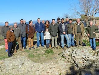 Representantes de Tagus y de los ayuntamientos