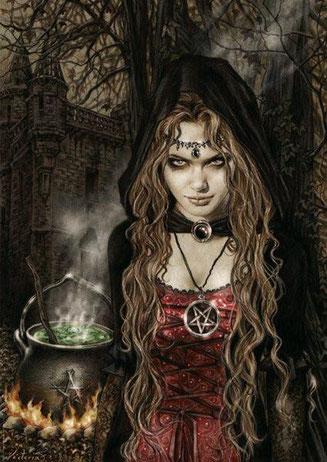 Ведьминская магия в деле