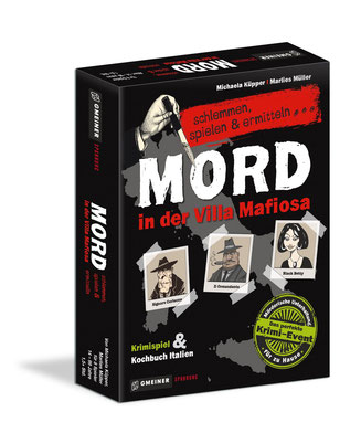 Rezension zum Krimi Dinner: Mord in der Villa Mafiosa