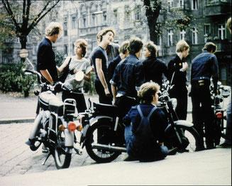 Foto aus: Einmal in der Woche schrein, R: Günter Jordan, 14 min, 1982/89, Quelle: DEFA
