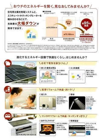 エコキュ―ト・IHクッキングヒーターキャンペーン