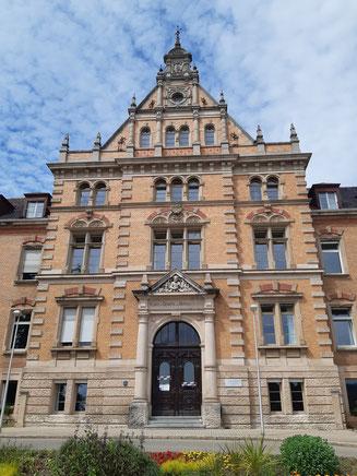 Die Universitäts-Nervenklinik Tübingen. Bild: Sarah Schneider.
