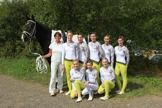 Sieger M*-Team mit Vera Maas-Lemberg und Grandeur